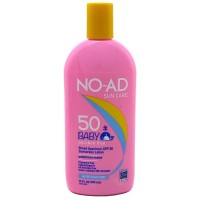 NO-AD Sun Care Baby Sunscreen Lotion SPF 50 13 oz [000774213019]