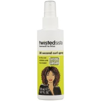 Twisted Sista Farewell to Frizz 30 Second Curl Spray, 5.7 oz [737178109791]