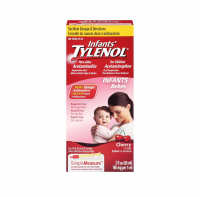 TYLENOL Infants' Acetaminophen Oral Suspension, Cherry Flavor 2 oz [300450186607]