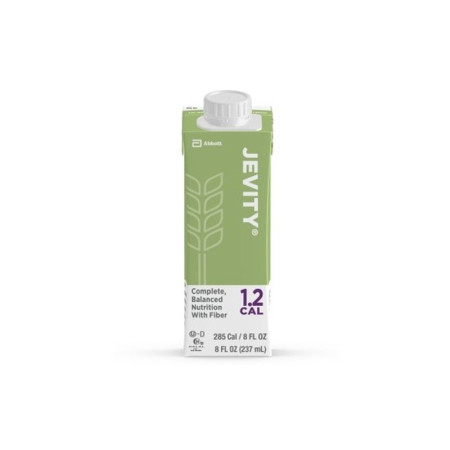 Jevity Oral Supplement 12 Cal with Fiber Unflavored Recloseable Tetra Carton Ready to Use, 8 oz [095614721410]