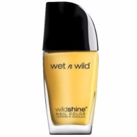Wet n Wild Wild Shine Finger Nail Polish, D'oh Yellow 0.41 oz [077802547248]