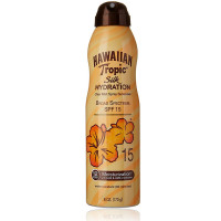 Hawaiian Tropic Silk Hydration Clear Mist Spray Sunscreen SPF 15 6 oz [075486091118]