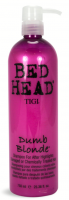TIGI Bed Head Dumb Blonde Shampoo, 25.36 oz [615908408065]