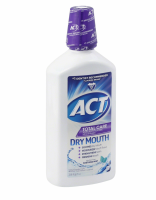 ACT Total Care Dry Mouth Anticavity Fluoride Mouthwash Soothing Mint 33.80 oz [041167096833]
