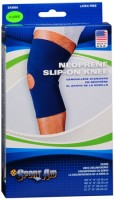 Sport Aid Neoprene Slip-On Knee Support X-Large 1 Each [763189017657]