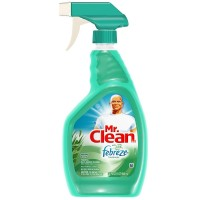 Mr. Clean with Febreze Fresh Multi-Purpose Cleaner, Meadows & Rain 32 oz [037000163565]