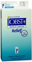 JOBST Medical LegWear Thigh High 20-30 mmHg Firm Compression Medium Beige Close-Toe 1 Pair [035664146412]