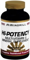 Windmill Hi-Potency Multi-Vitamin and Mineral Tablets 90 Tablets [035046002107]