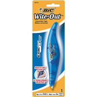 "Bic Wite-Out Exact Liner Correction Tape,1/5"" x 236"", 1 ea [070330507432]"