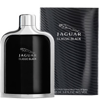 Classic Black By Jaguar Eau de Toilette Spray For Men 3.4 oz [3562700373145]