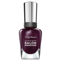 Sally Hansen Nail Polish, Pat On The Black 0.5 oz [074170399271]