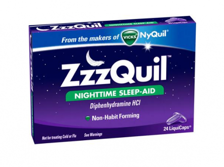 ZzzQuil Nighttime Sleep-Aid, LiquiCaps 24 ea [323900013995]