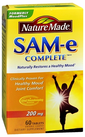 Nature Made SAM-e Complete Enteric Coated Tablets 60 Tablets [031604010928]