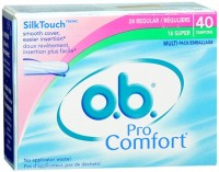 o.b. Pro Comfort Tampons Multi-Pack 40 Each [380041811002]