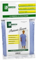 Essential Medical Supply Solid Blue Patient Gown 1 Each [754756230128]