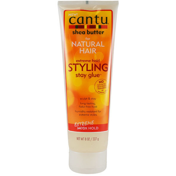 Hair Styling Gel Cantu Natural Hair Styling Gel Stay Extreme Hold Tube 8 Oz .