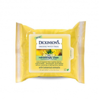 Dickinson's Original Witch Hazel Daily Refreshingly Clean Cleansing Cloths 25 ea [010331000242]