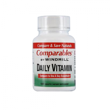 Windmill Daily Vitamin Tablets With Beta Carotene 100 Tablets [035046000684]