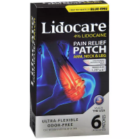 Blue-Emu Lidocare Arm, Neck & Leg Pain Relief Patch 6 ea [045611009387]