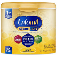 Enfamil NeuroPro Infant Formula - Brain Building Nutrition Inspired by Breast Milk - Reusable Powder Tub, 20.7 oz [300875121078]