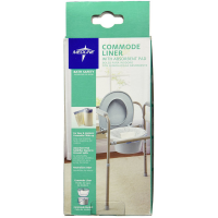 Medline Commode Liner with Absorbent Pad 12 ea [884389100519]