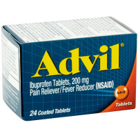 Advil 200 mg Coated Tablets 24 ea [305730150200]