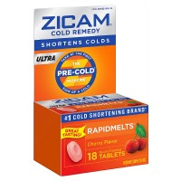 Zicam Ultra Cold Remedy RapidMelts, Cherry 18 ea [732216300925]