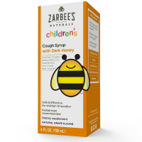 ZarBee's Children's Cough Syrup Natural Grape Flavor 4 oz [898115002183]
