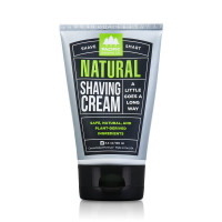 Pacific Shaving Company Shave Smart Natural Shave Cream - With Safe, Natural, and Plant-Derived Ingredients, TSA Friendly, Made in USA, 3.4 oz