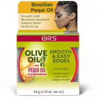 ORS Olive Oil Smooth & Easy Edges Hair Gel with Pequi Oil 2.25 oz [632169117123]