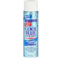 Fruit of the Earth Cool Blue Aloe Mist Continuous Spray 6 oz [071661613328]