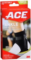 ACE Ankle Brace With Side Stabilizers One Size 1 Each [382902072669]