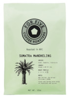 For Five Sumatra Mandheling Whole Bean 12 oz [853473008109]