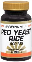 Windmill Red Yeast Rice 600 mg Tablets 60 Tablets [035046004576]