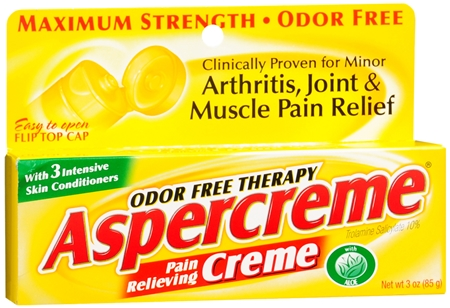 ASPERCREME Pain Relieving Creme 3 oz [041167057032]