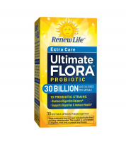 ReNew Life Ultimate Flora Extra Care Daily Probiotic 30 Billion, 30 Vegetarian Capsules [631257158628]