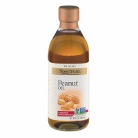 Spectrum Essentials Peanut Oil , Unrefined Oil 16 oz [022506104105]