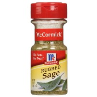 McCormick Rubbed Sage 0.50 oz [052100008844]