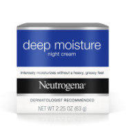 Neutrogena Deep Moisture Night Cream 2.25 oz [070501025369]