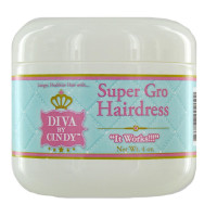 Diva By Cindy Super Gro Hairdress, 4.0 oz [854137002099]