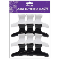 Diane Large Butterfly Clamps 12 ea [824703000132]