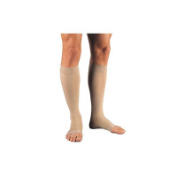 JOBST Relief Knee High Compression Stockings, 20-30mmhg, Beige, Small, 1 Pair [035664146252]