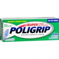 SUPER POLIGRIP Denture Adhesive Cream Original 0.75 oz [310158062141]