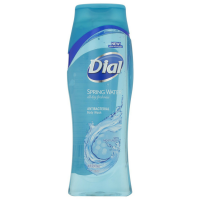 Dial Antibacterial Body Wash With Moisturizers, Spring Water  16 oz [017000018744]