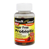 Mason Natural Sugar Free Probiotic Gummies, 60 ea [311845176158]