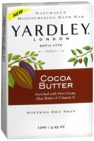 Yardley Moisturizing Bar Cocoa Butter 4.25 oz [041840829529]