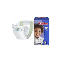 Baby Diaper Cuties Tab Closure Size 7 Disposable Heavy Absorbency, 20 ea [090891203901]