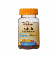 Sundown Naturals Adult Multivitamin Gummies with Vitamin D3 50 Each [030768529567]