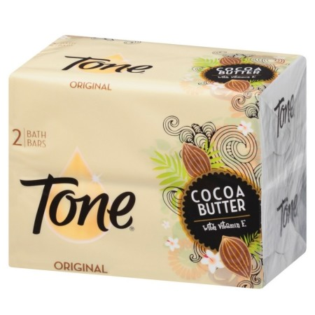 Tone Bath Bars, Cocoa Butter 4.25 oz bars, 2 ea [017000004891]