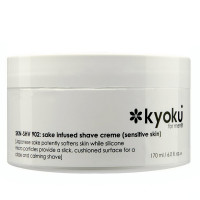 Kyoku Sake Infused Shaving Cream For Sensitive Skin for Men 6 oz [611935276028]